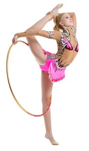 Hoopdance Hula Hoop Girl