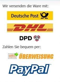 Hula Hoop Shop EU Zahlung und Versand
