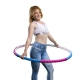 Hoopomania Body Hoop Hoop avec 77 des bosses de massage, 0.95kg