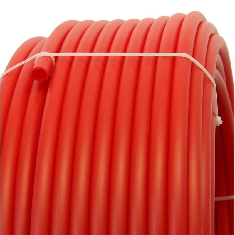 Plastic pipe made of HDPE-16 mm, RED