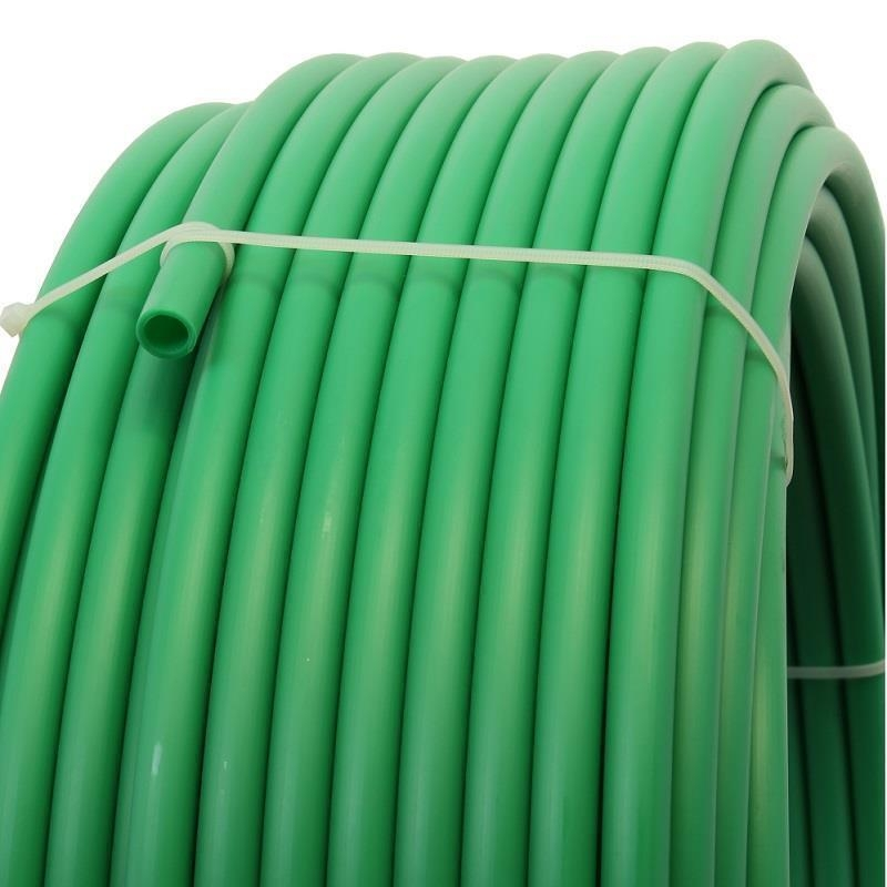 Plastic pipe made of HDPE-16 mm, GREEN