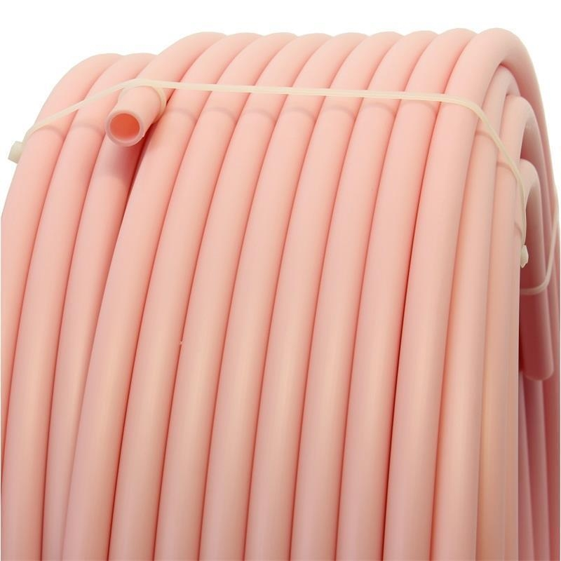 Plastic pipe made of HDPE-16 mm, PINK