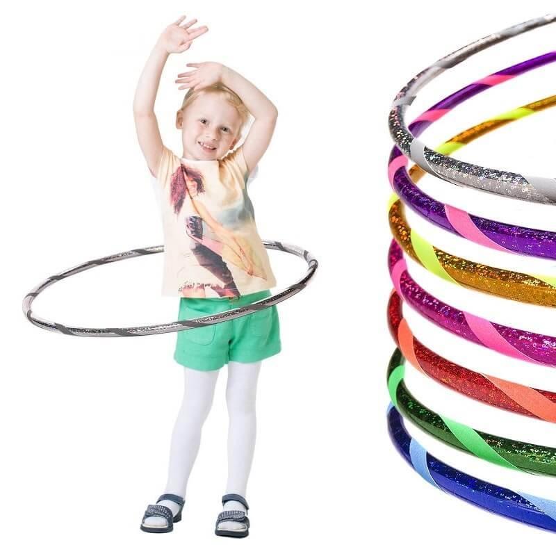 glamour kinder hula hoop reifen 60 70 80cm. Black Bedroom Furniture Sets. Home Design Ideas